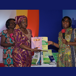 Presentation of Family Planning Resource Kits to Federal Ministry of Health