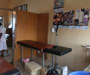 A view of the insertion room before a make-over at Oniyanrin primary health centre in Ibadan, South-west, Nigeria November 7, 2012.