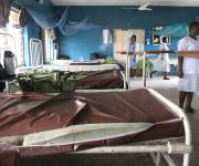 Views of the family planning unit, before a make-over, at Agbongbon health centre in Ibadan, South-west, Nigeria November 7, 2012.
