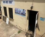 View of entrance to the family planning unit, before a make-over, at Agbongbon health centre in Ibadan, South-west, Nigeria November 7, 2012.