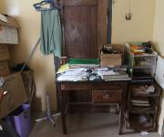 A pre-make over view of the family planning unit at Alafara primary health centre in Ibadan, South-west, Nigeria November 7, 2012.