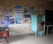 A view of the family planning unit of the Ibadan north local government primary health centre before a make-over repair, in Agodi district Ibadan, south- west, Nigeria November 7, 2012.