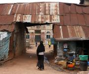 A view of a compound near Foko primary health centre in Foko district in Ibadan, south- west Nigeria November 7, 2012.