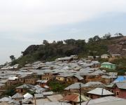 A view of the Mpape village at the base of a rocky hill in the outskirt of Nigeria's capital Abuja November 9, 2012.
