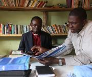 NURHI staff attends Advocacy visit with local Christian pastor